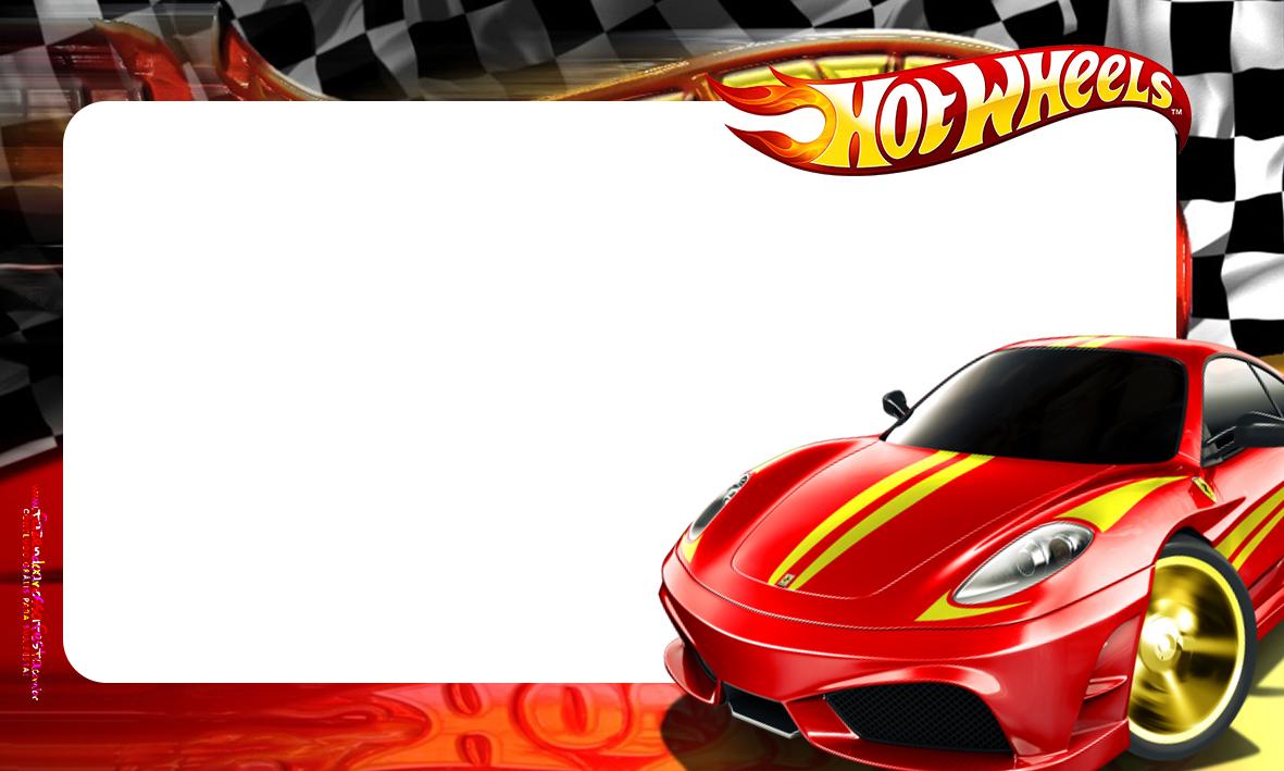 Etiqueta Volta as aulas Hot Wheels 2