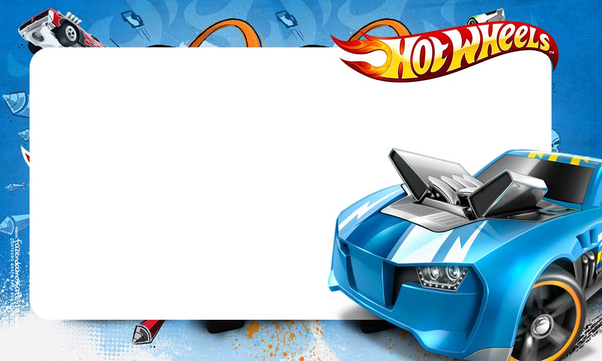Etiqueta Volta as aulas Hot Wheels 3