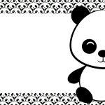 Etiqueta Volta as aulas Panda