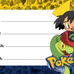 Etiqueta Volta as aulas Pokemon