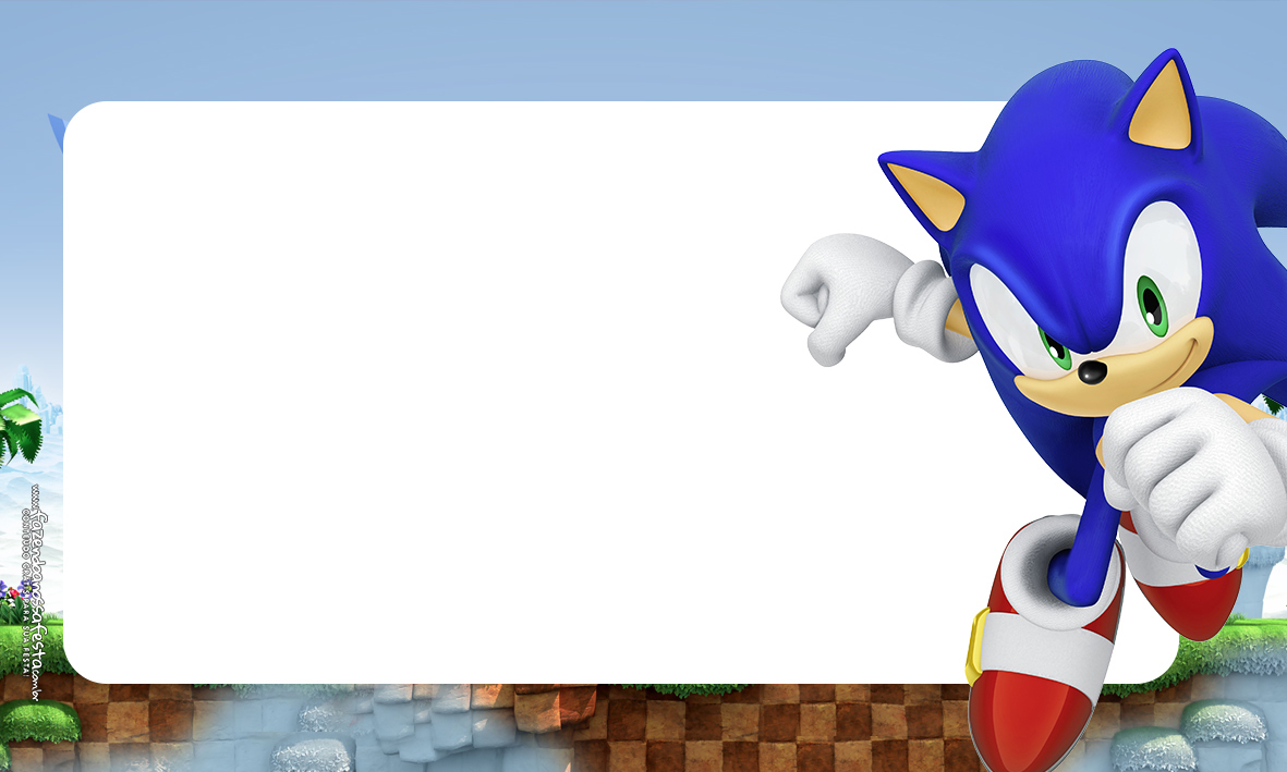 Etiqueta Volta as aulas Sonic 2