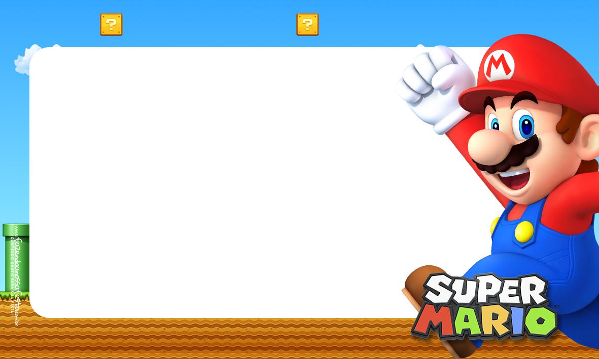 Etiqueta Volta as aulas Super Mario 1