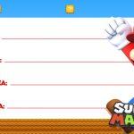 Etiqueta Volta as aulas Super Mario 2