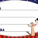 Etiqueta Escolar Personalizadas Show da Luna 8