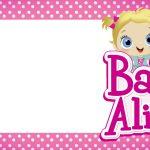 Etiquetas Escolar Volta as Aulas Baby Alive 1