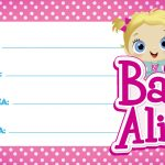Etiquetas Escolar Volta as Aulas Baby Alive 1 2