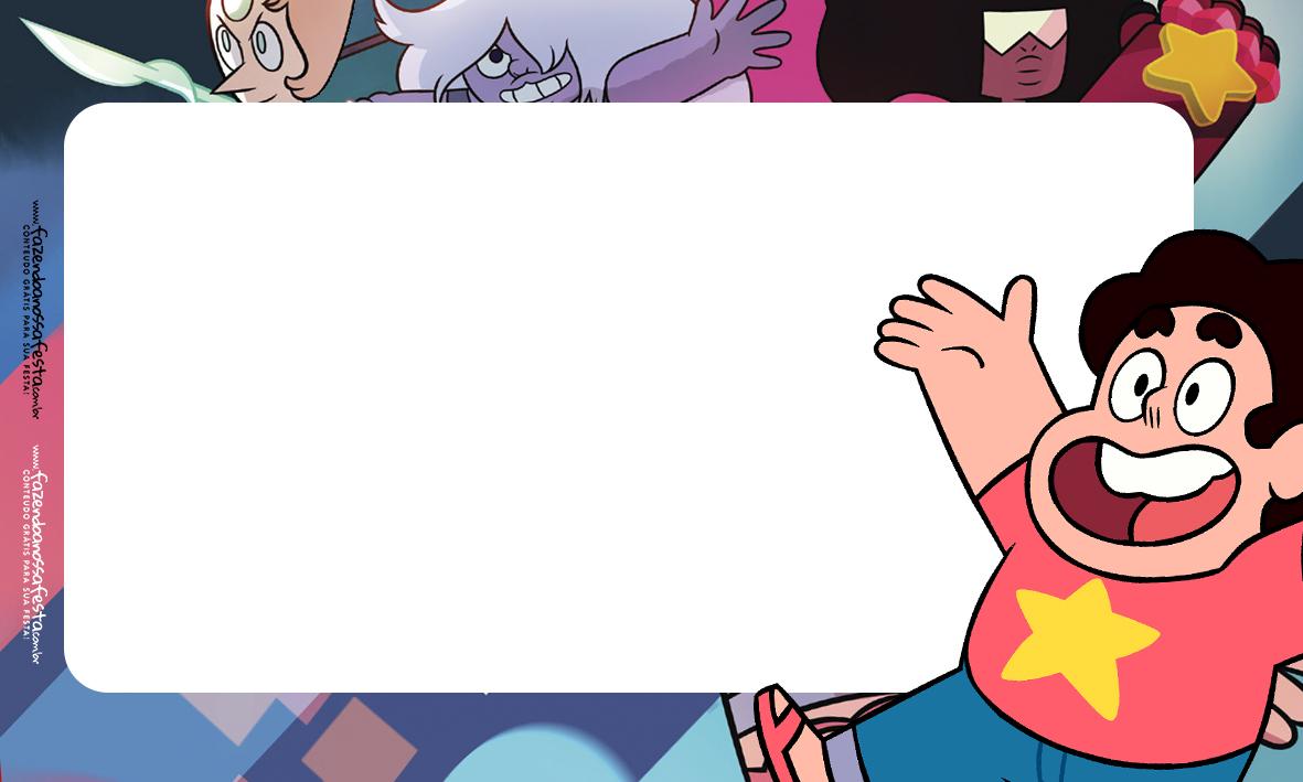 Etiquetas Escolar Volta as Aulas Steve Universo 1