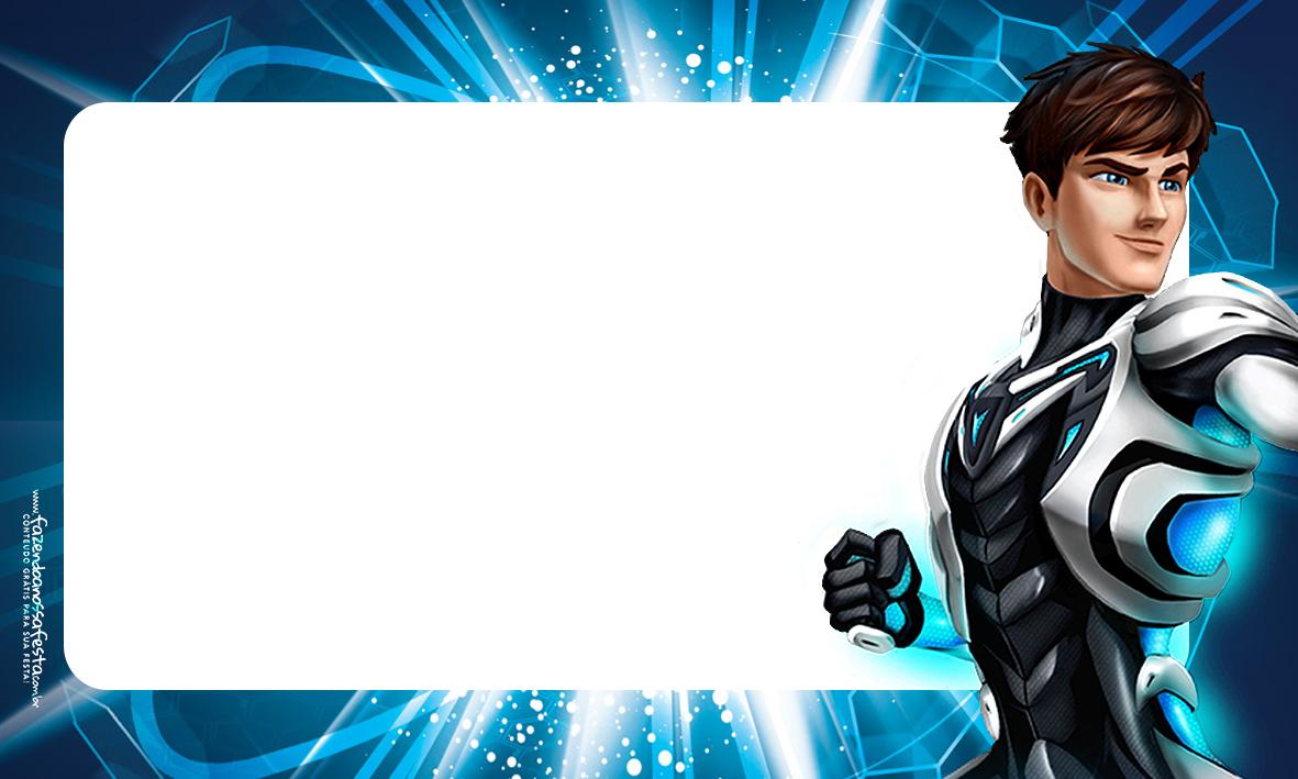 Etiquetas Volta as aulas Max Steel 2