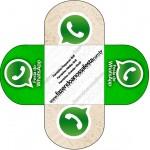 Forminha Redonda Whatsapp