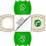 Forminhas Docinhos Flor Whatsapp