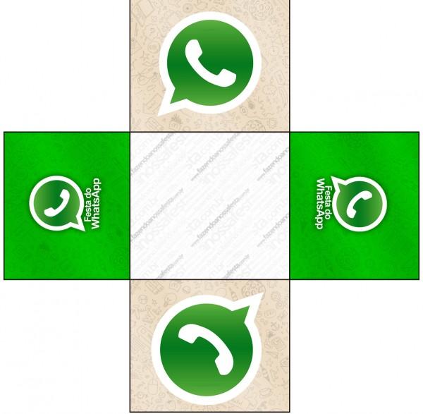 Forminhas Docinhos Quadrada Whatsapp