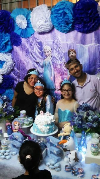 Festa Frozen da Luci