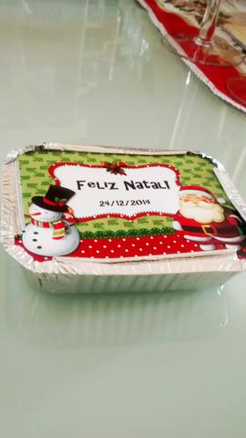 Festa Natal Papai Noel e Boneco de Neve
