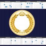 Coroa Príncipe Azul Marinho Kit Festa Infantil
