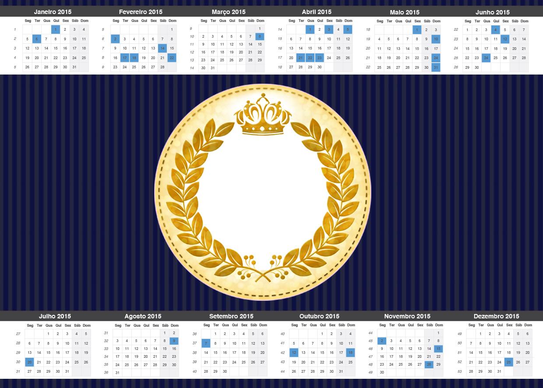 Kit Festa Completo Coroa De Principe Azul Marinho 2144 Fazendo A