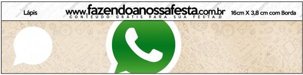 Lápis Whatsapp