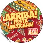 Latinhas,Toppers Festa Mexicana