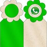Marcador de Páginas Whatsapp