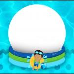 Marmita 500gr Pool Party Menino Moreno