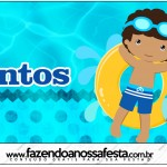 Mentos Pool Party Menino Moreno