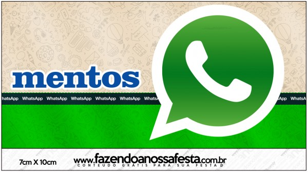 Mentos Whatsapp