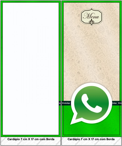 Menu Whatsapp