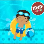 Mini M&M Pool Party Menino Moreno