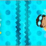 Mini Talento Pool Party Menino Moreno