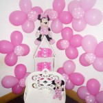 Festa Minnie Rosa da Maria Eduarda