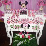 Festa Minnie Rosa da Maria Eduarda!