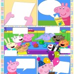 Convite Gibi da Peppa Pig