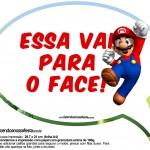 Plaquinhas Divertidas Mario Bros