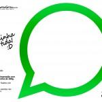 Plaquinhas Divertidas Whatsapp