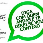 Plaquinhas Divertidas Whatsapp 25