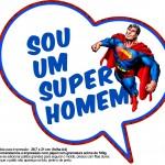 Plaquinhas Divertidas Super Homem