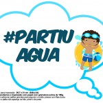 Plaquinhas Pool Party Meninos Moreno