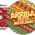 Porta Guardanapos Festa Mexicana
