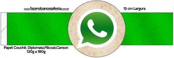 Porta Guardanapos Whatsapp