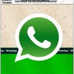 Quadrado qualquer tamanho Whatsapp