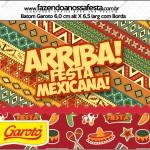 Rótulo Batom Garoto Festa Mexicana 1