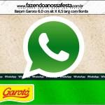 Rótulo Batom Garoto Whatsapp