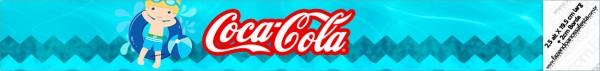Rótulo Coca-cola Pool Party