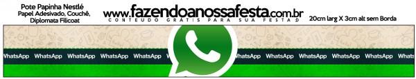 Rótulo Pote Papinha Whatsapp