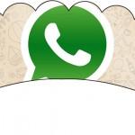 Saias Wrappers para Cupcakes Whatsapp
