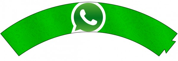 Saias Wrappers para Cupcakes Whatsapp 2