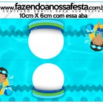 Saquinho de Balas Pool Party Menino Moreno