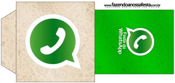 Saquinho de Chá Whatsapp