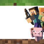 Etiqueta Volta as Aulas Minecraft 1