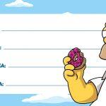 Etiqueta Volta as Aulas Simpsons 6