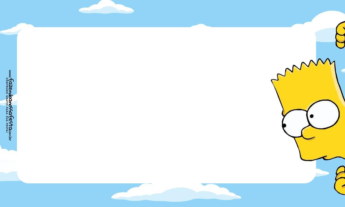 Etiqueta Volta as Aulas Simpsons 3